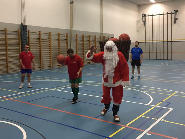 Amichevole di Basket con i docenti di Acquarossa