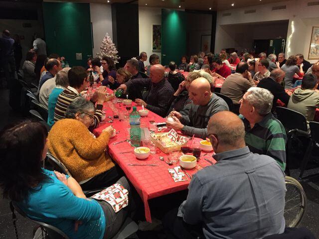 Cena di Natale 2018 al centro Civico di Arbedo