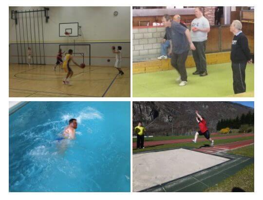 Preparazione per i giochi nazionali di Berna